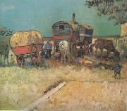 Encampment of Gypsies with Caravans (nn04)