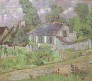 Vincent Van Gogh House in Auvers (nn04) oil painting on canvas