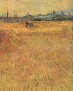 Arles:Vew from the Wheat Fields (nn04)