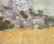 View of Auvers with Church (nn04)