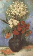 Vase with Carnations and Othe Flowers (nn04)