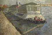 Bathing Float on the Seine at Asnieres (nn04)