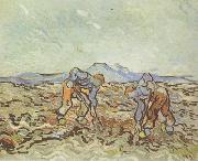 Peasants Lifting Potatoes (nn04)
