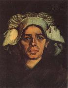 Head of a Peasant Woman with Whit Cap (nn040