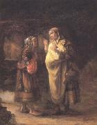 Willem Drost Ruth declares her Loyalty to Naomi (mk33) oil painting picture wholesale