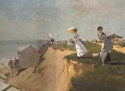 Winslow Homer Long Branch,New Jersey (mk44) oil painting picture wholesale