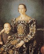 Agnolo Bronzino Eleonora of Toledo and her Son Giovanni oil painting reproduction