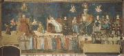 Ambrogio Lorenzetti Allegory of Good and Bad Government oil painting reproduction