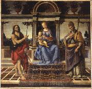 Andrea del Verrocchio Madonna di Piazza oil painting reproduction