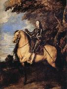 Anthony Van Dyck Equestrain Portrait of Charles I oil painting reproduction