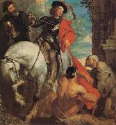 Anthony Van Dyck St Martin Dividing his Cloak oil painting reproduction