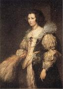 Anthony Van Dyck Portrait of Maria Louisa de Tassis oil painting reproduction