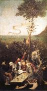 BOSCH, Hieronymus The Ship of Fools oil painting reproduction