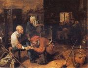 BROUWER, Adriaen The 0peration oil painting reproduction
