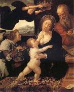 Barend van Orley Holy Family oil painting reproduction