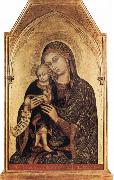 Barnaba Da Modena Madonna and Child oil painting reproduction