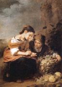 Bartolome Esteban Murillo The Little Fruit Seller oil painting reproduction