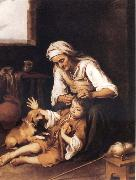 Bartolome Esteban Murillo The Toilette oil painting reproduction