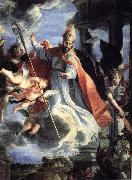 COELLO, Claudio Triumph ot St.Augustine oil painting reproduction