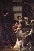 Cano, Alonso St.Isidoro and the Miracle of the Well oil painting reproduction