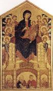 Madonna and Child Enthroned with Angels and Prophets