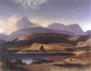 David Young Cameron Wilds of Assynt oil painting
