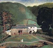 Dora Carrington Farm at Watendlath oil painting