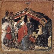 Duccio di Buoninsegna Adoration of the Magi oil painting reproduction