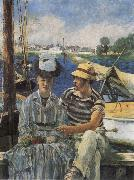 Edouard Manet Argenteuil oil painting reproduction