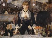 Edouard Manet A Bar at the Folies Bergere oil painting reproduction