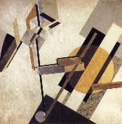 El Lissitzky Proun oil painting
