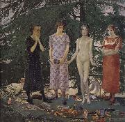 Felice Casorati Recreation by our Gallery oil painting reproduction