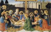 Fra Angelico The Lamentation of Christ oil painting reproduction