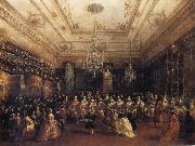 Francesco Guardi Venetian Gala Concert oil painting on canvas