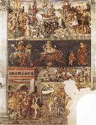Francesco del Cossa Allegory of the Month of April oil painting