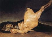 Francisco Jose de Goya Plucked Turkey oil painting reproduction