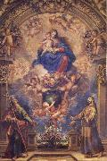 Francisco Rizi Virgin and Child with Sts.Philip and Francis oil painting