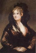 Francisco de Goya Portrait of Dona Isbel de Porcel oil painting artist