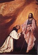 Francisco de Zurbaran Vision of Brother Andres Salmeron oil painting reproduction