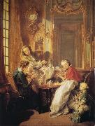 Francois Boucher The Breakfast oil painting reproduction