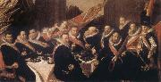 Banquet of the Office of the St George Civic Guard in Haarlem