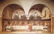 GHIRLANDAIO, Domenico Last Supper oil painting reproduction