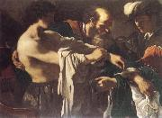 GUERCINO The Return of the Prodigal Son oil painting reproduction