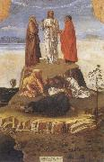 Gentile Bellini Transfiguration fo Christ oil painting