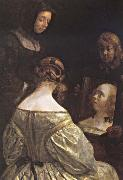 Gerard Ter Borch Recreation by our Gallery oil painting reproduction