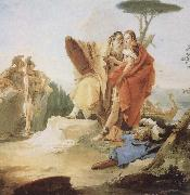 Giambattista Tiepolo Recreation by our Gallery oil painting reproduction