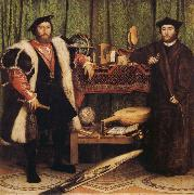 Hans holbein the younger The Ambassadors oil painting reproduction