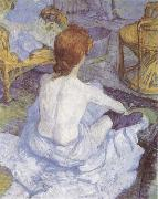Henri de toulouse-lautrec The Toilette oil painting reproduction