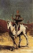 Honore Daumier Don Quixote oil painting