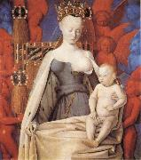 Jean Fouquet Madonna and Child oil painting reproduction